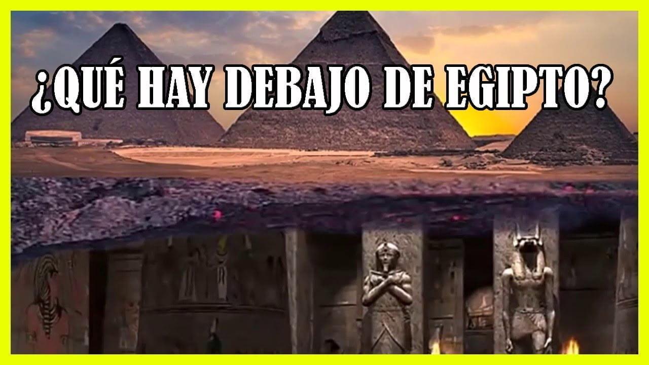 ¿Qué Demonios hay debajo de las PIRÁMIDES de Egipto?