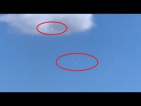 ¡Dos objetos plateados que se comportan de manera extraña en el cielo de Sydney – 28/09/2020