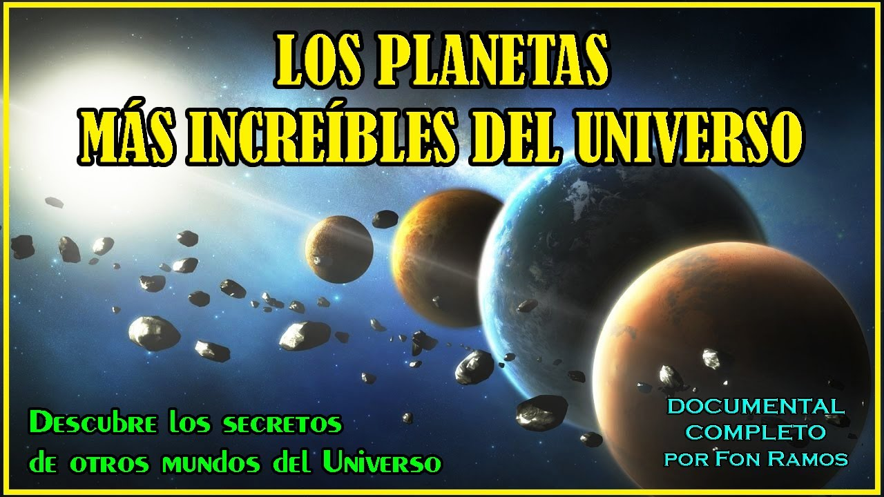 Los Planetas Más Increíbles Descubiertos en el Espacio – Documental Completo