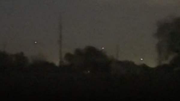 Actividad OVNI capturada sobre Sealy, Texas 17-Nov-2020