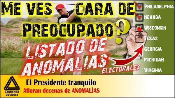 ¡CONTRAATAQUE INFORMATIVO! !ANOMALÍAS ELECTORALES MASIVAS!: El Rubio COMIENZA UNA GIRA NACIONAL