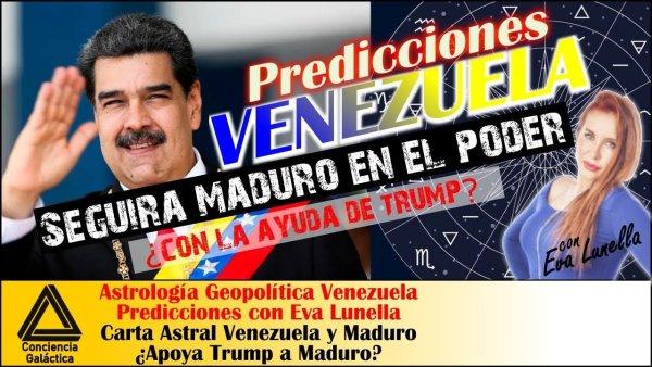 ¿Ganará Maduro las elecciones de Venezuela? ¿Habrá acuerdo con Trump?: Carta Astral Venezuela/Maduro