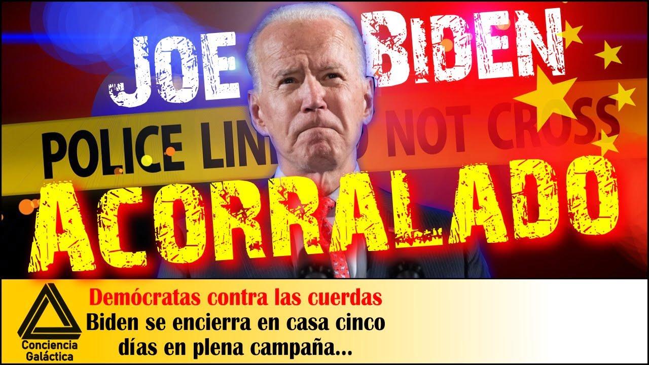 Joe Biden acorralado: ¿Cinco días encerrado en casa en plena Campaña???