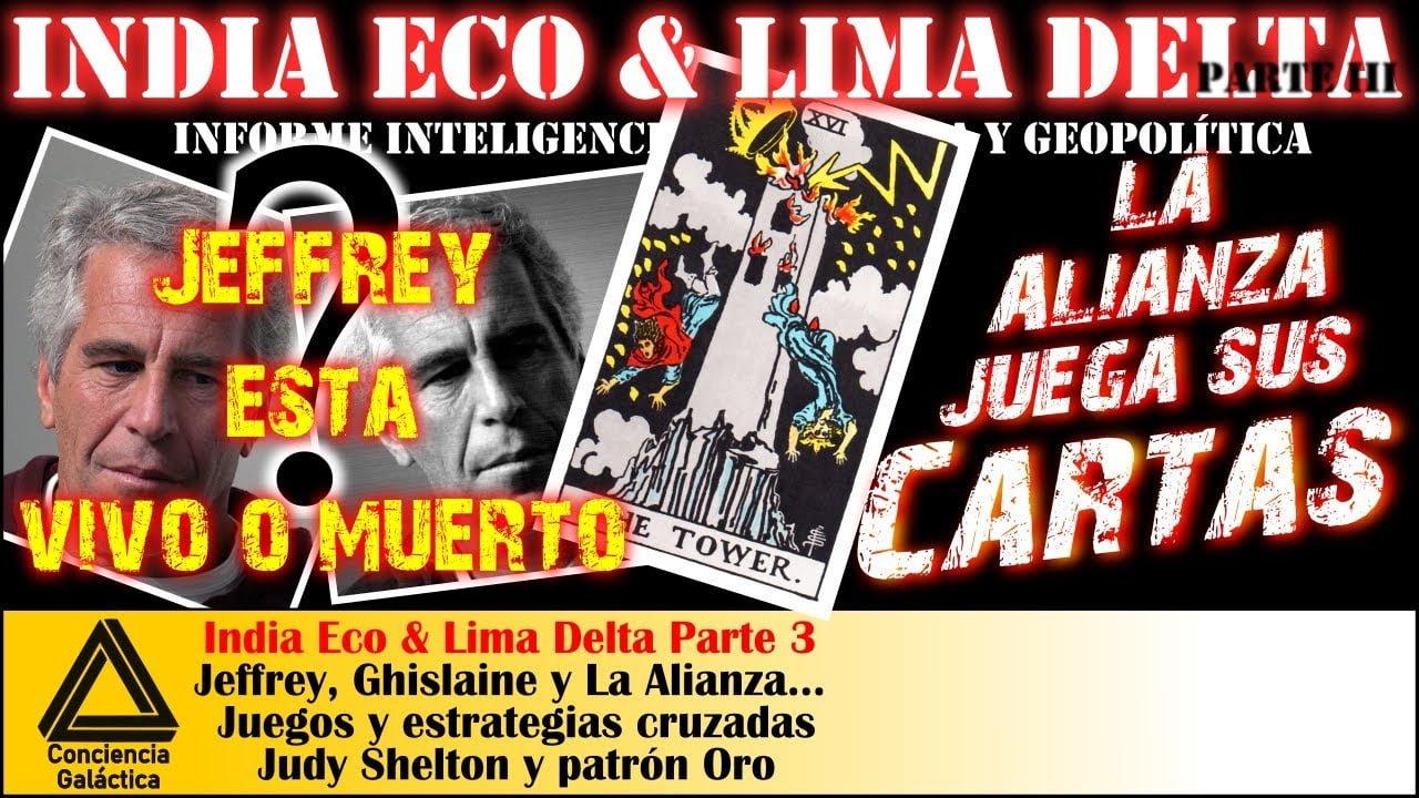 ¿Qué pasó con Jeffrey?: la Alianza juega sus cartas… ¿invitado en Gitmo? India Eco y Lima Delta 3