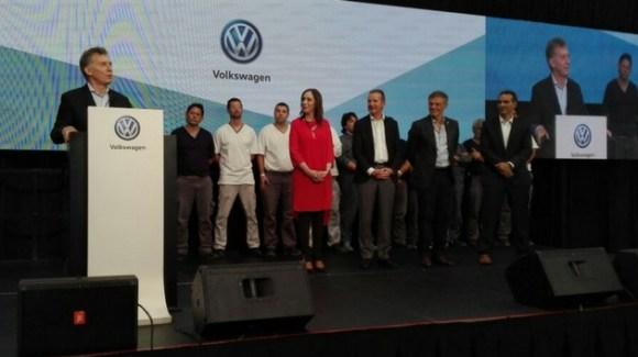 Volkswagen Inversion Macri Pacheco