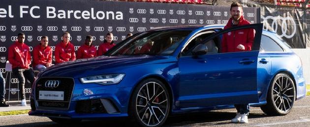 Audi Messi FCB