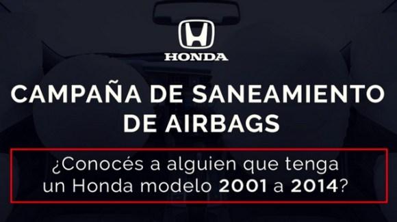 Honda Airbags Recall