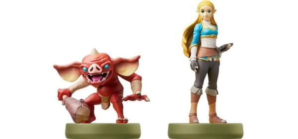 Nuevos amiibo de Zelda y de un Bokoblin.