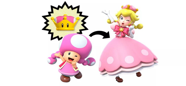 New Super Mario Bros U Deluxe Toadette