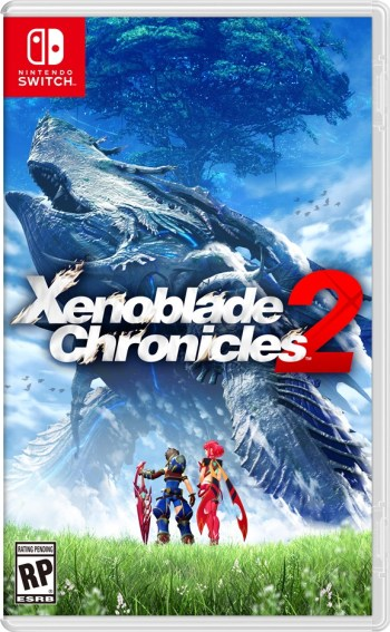 Portada de Xenoblade Chronicles 2 para Switch.
