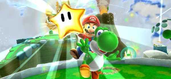 Super Mario Galaxy 2 Sección del Recuerdo