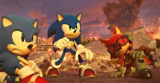 Tráiler y gameplay de Sonic Forces para Switch.