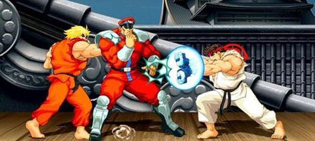 Batalla en Ultra Street Fighter II.