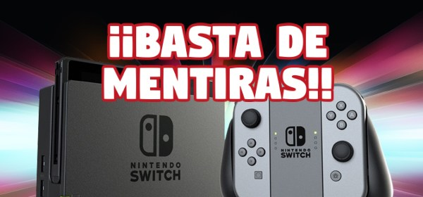 video manipulacion mentira nintendo switch Mundo N