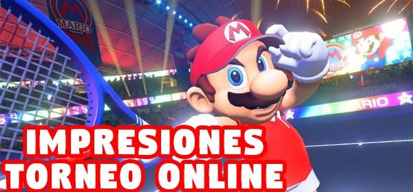 Impresiones del demo torneo online de Mario Tennis Aces