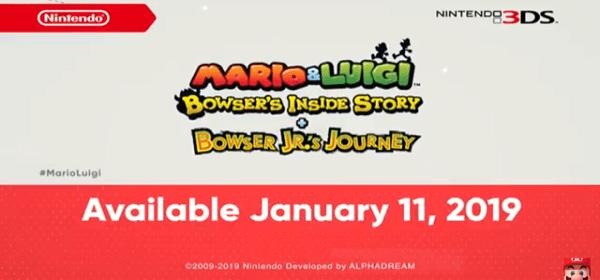 Un Vistazo Mas A Mario Y Luigi Bowser S Inside Story Bowser Jr S