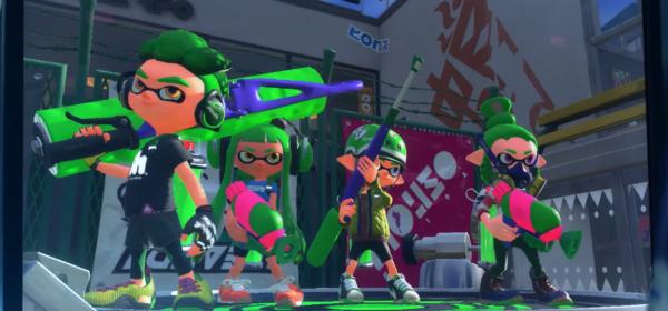 Splatoon 2 Nintendo Switch novedades trailer