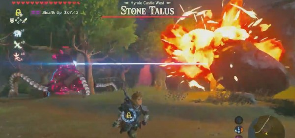 Zelda Breath of the Wild stone talus guardian Mundo N