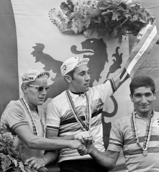 Jan_Janssen,_Eddy_Merckx,_Ramon_Saez_Marzo_1967