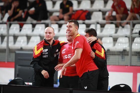 Autoridad y épica en el pleno español de la primera jornada del Campeonato de Europa