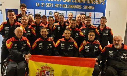 El equipo paralímpico español comienza el Campeonato de Europa de Tenis de Mesa 2019