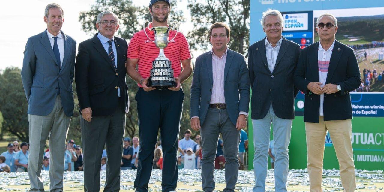 Jon Rahm incrementa su leyenda ganando el Mutuactivos Open de España