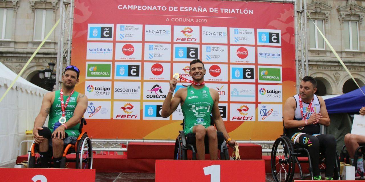 Quintero Campeón de España de Paratriatlón