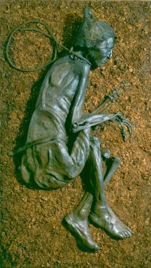 La bellísima momia del Hombre de Tollund