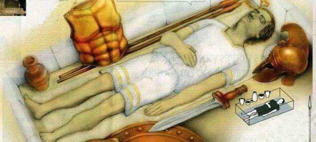 anfipolis man e1416231466333 - El residente de la tumba de Anfípolis es un general macedonio