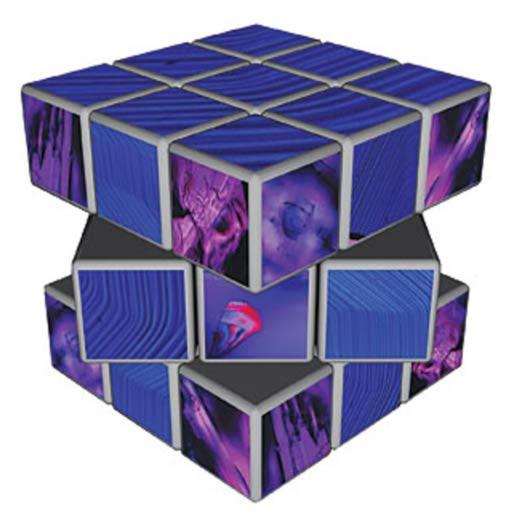 strange collapsing of dimensions - Han púrpura: A 2.800 años pigmento artificial que los físicos cuánticos están tratando de entender