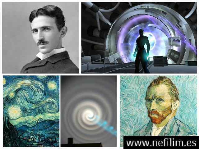 La Conexión Secreta: El Portal Interdimensional de Níkola Tesla, Van Gogh y Robert W. Chambers