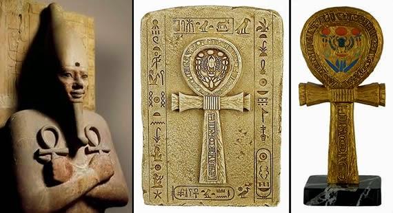 ¿Tiene alguna SIMILITUD la CRUZ EGIPCIA con la CRISTIANA?