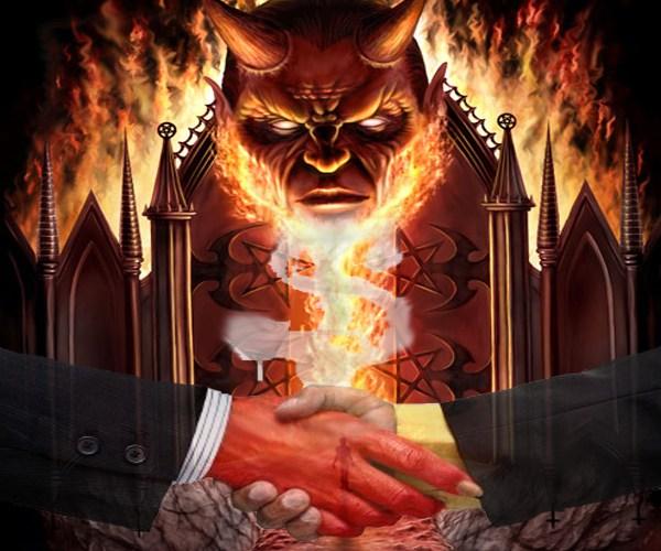 pacto diablo 1 - PACTO con el DIABLO ¿Es peligroso hacerlo? ¿Y sabes cómo hacerlo?