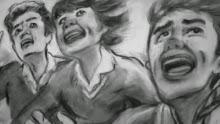 students seeUFO westall 1966 4 - El aterrizaje ovni presenciado por más de 200 estudiantes en #Westall, Australia