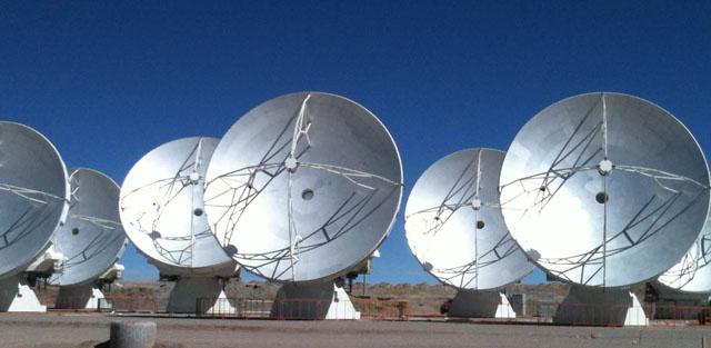 Resultado de imagen de antenas radiotelescopio