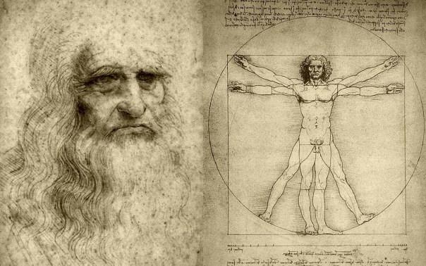 Da Vinci - Hombre Vitruvio