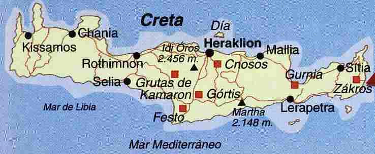La civilizacion cretense