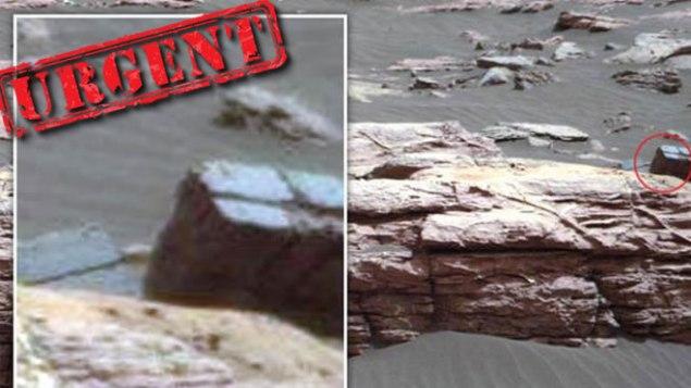 Encuentran rastros de construcción Extraterrestre en Marte