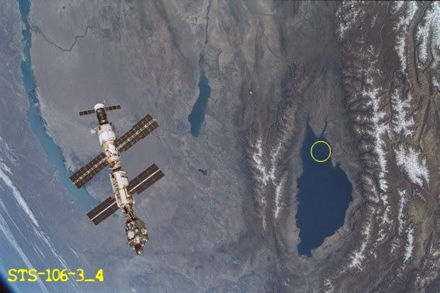 nasa graba ovni sumergiendose en lago issyk kul kirguistan 3 - NASA graba OVNI sumergiéndose en lago Issyk-Kul (Kirguistán)