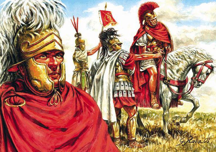 oficiales romanos - Esclavo satisfecho, esclavo productivo
