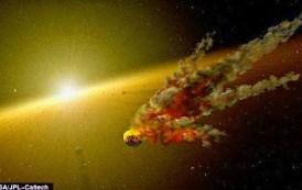 Choque entre asteroides posible génesis de un planeta rocoso como la Tierra
