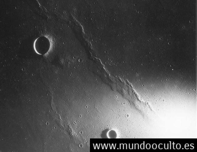 nasa 1 - Las bases extraterrestres en la Luna
