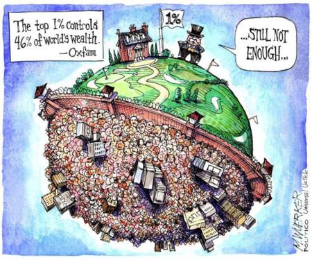 Más pruebas de que el 1% lleva 800 años (por lo menos) dominando el mundo