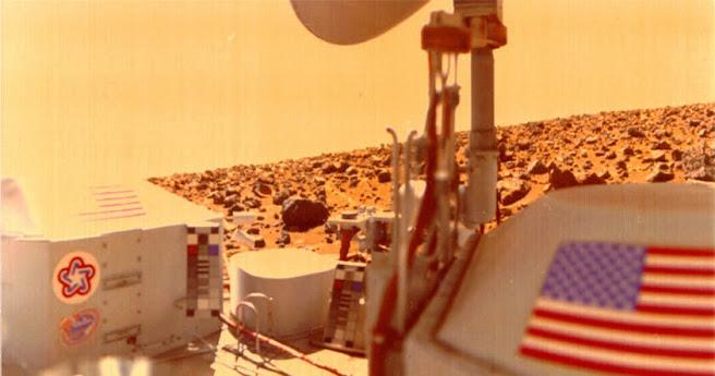 dc3d3b1a336fbbd51585e31c95f45c83 1 - 40 años del aterrizaje de la Viking-1 en Marte ¿Se supo de la existencia de vida desde el inicio?