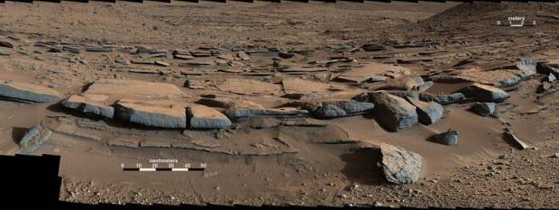 lago marte2 e1418091051252 - Curiosity halla evidencia de que hubo un lago en Marte