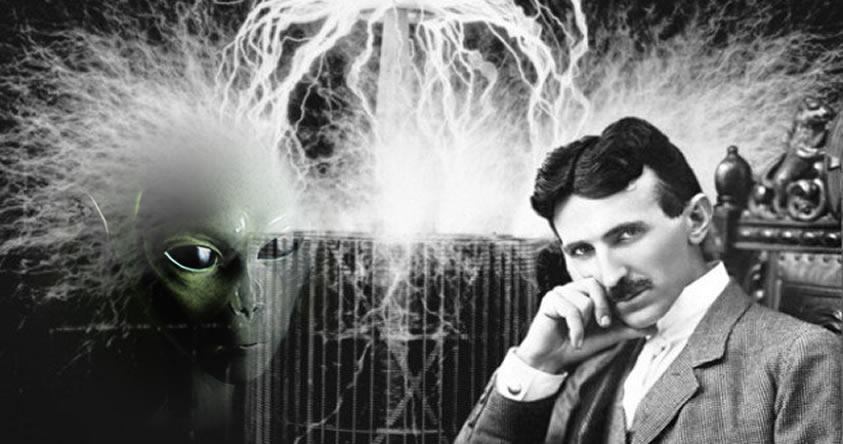 Nikola Tesla afirmó haber interceptado mensajes numéricos del espacio exterior