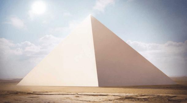 La Gran Pirámide de Giza brilló como una ESTRELLA hace miles de años.
