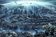 ¿ Es la legendaria Atlantis , la ciudad perdida descubierta frentea las costas de Marruecos