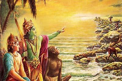 Lord Ramacandra - ¿Es este un puente construido por el hombre hace 1,8 millones de años?