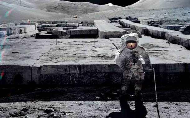 El primer paso hacia una arqueología fuera de la Tierra: Ruinas en la Luna